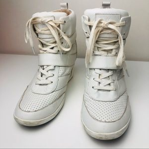 Wittner High top white leather Sneakers | Size :39